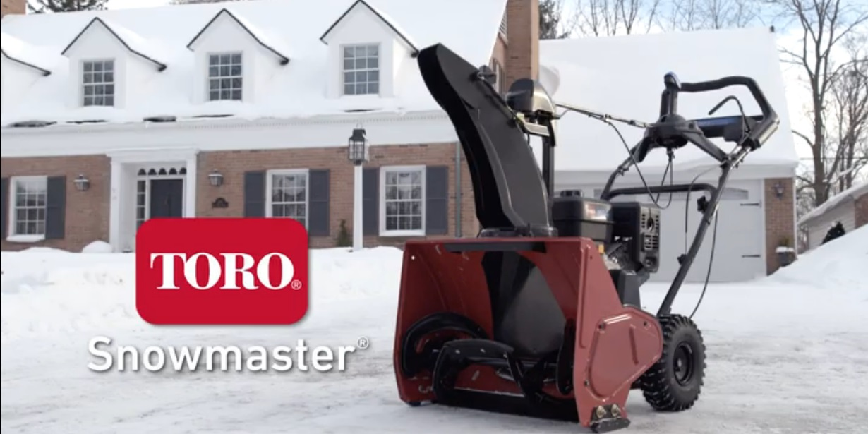 New Toro SnowMaster Self Propelled Snowblower