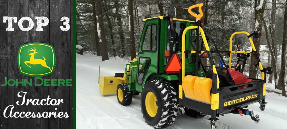 New John Deere Tractor Accessories