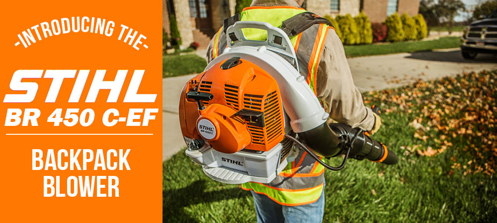 Introducing Stihl's new Electric Start Backpack Blower