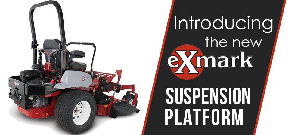 Introducing Exmark's Suspension Platform