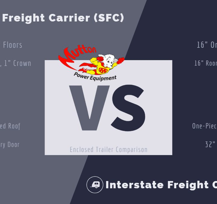 The Difference Between an SFC and IFC Enclosed Trailers