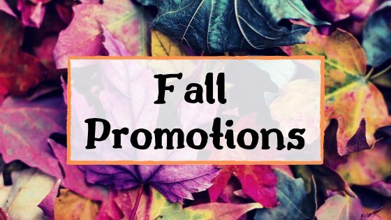 Fall Promotions for Cart Parts Direct