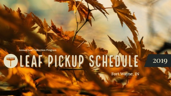 2020 Fort Wayne Leaf Collection Schedule
