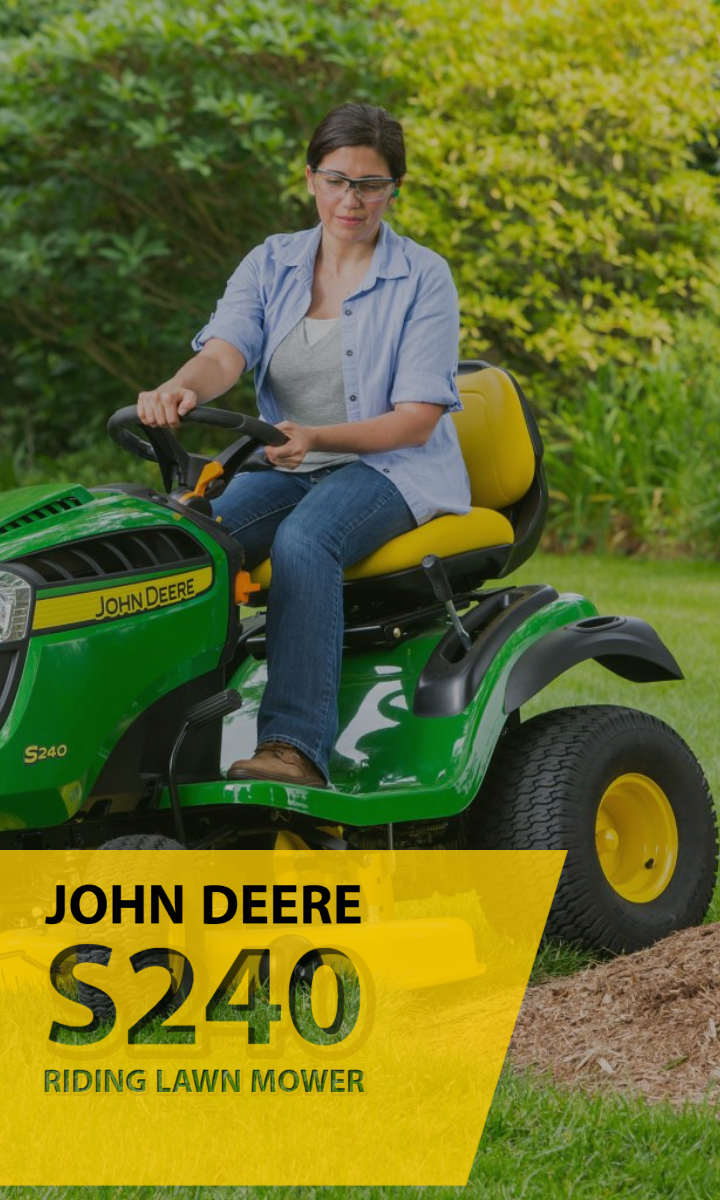 John Deere Announces New S220 Riding Lawn Mower