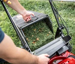 Image of Toro Supperbagger full of lawn clippings